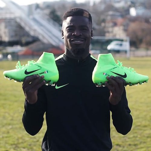 Delivery video – Serge Aurier